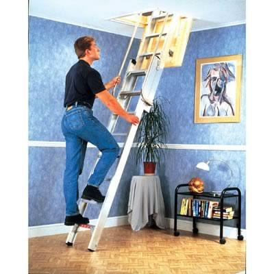 Youngman Aluminium Deluxe Loft Ladder)
