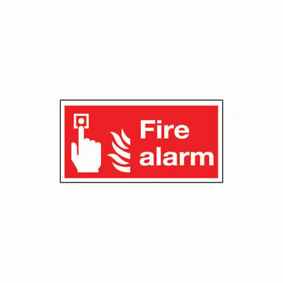Fire Alarm - 100 x 200mm)
