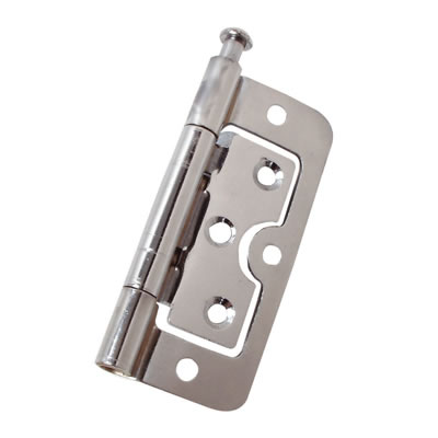 Loose Pin Hurlinge - 75 x 55 x 1.5mm - Chrome