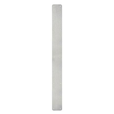 1.5mm Plain Finger Plate - 1000 x 75mm - Satin Stainless Steel
