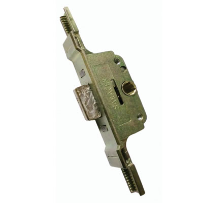 Aubi/Saracen uPVC Cranked Window Lock Gearbox - 22mm Backset - 11.5mm Deadbolt