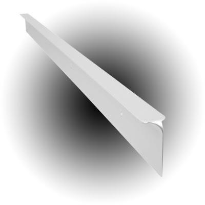 Worktop Corner Joint - 40 x 630mm - White