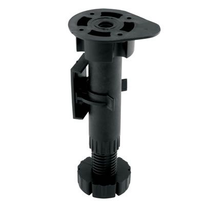Pro Series Kitchen, Bedroom & Shopfitting Adjustable Leg - 150-180mm - Pack 4