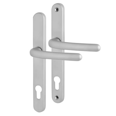 Fab & Fix Balmoral - uPVC/Timber - Multipoint Lever/Lever - 92mm centres - Satin Chrome