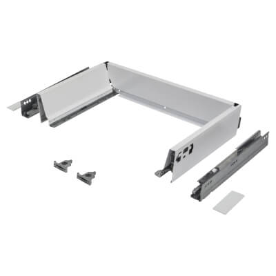 Blum TANDEMBOX ANTARO Drawer Pack - BLUMOTION Soft Close - (H) 84mm x (D) 270mm x (W) 500mm - White