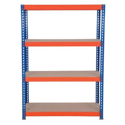 4 Shelf Industrial Shelving - 300kg - 2200 x 1500 x 600mm