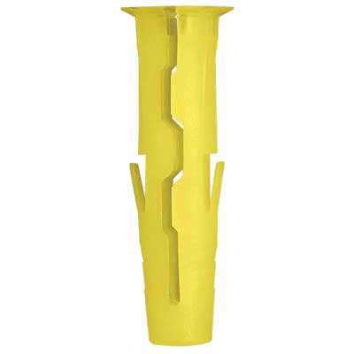 Rawlplug UNO Wall Plug - Yellow - Pack 96