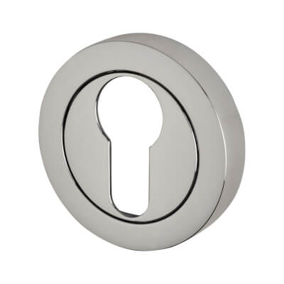 Reguitti Escutcheon - Euro - Polished Chrome