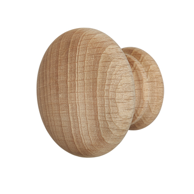 Touchpoint Cabinet Knob - 45mm - Beech