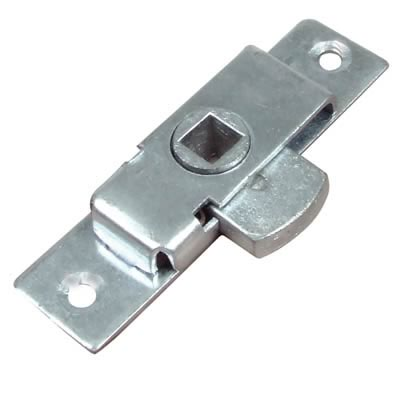 Budget Reversible Cabinet Rim Lock - 79 x 22mm - Zinc Plated)