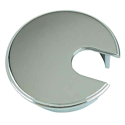 Metal Cable Tidy - 62mm - Polished Chrome