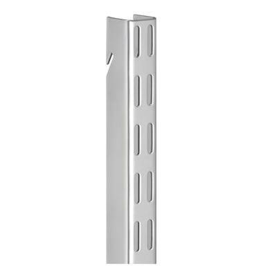 elfa Hanging Wall Bar - 2012mm - Platinum