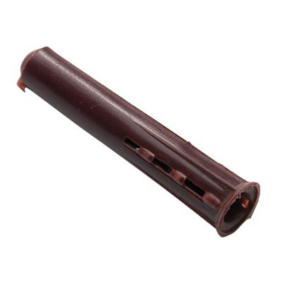 Plastic Wall Plug - Screw Size 10-14mm - Brown - Pack 100