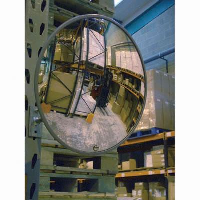 Interior Acrylic Convex Mirror - 600mm Diameter)