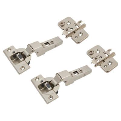 Blum CLIP Top Soft Close Cabinet Hinge Pack - 110° - Dual - Pair