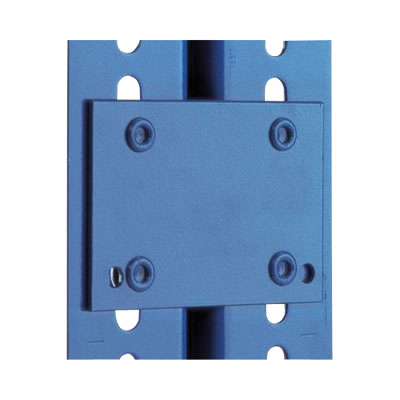 Boltless Shelving Accessories - Set of 4 Tie Plates)