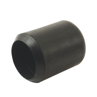 Rubber Chair Ferrules - 16mm - Black - Pack 50