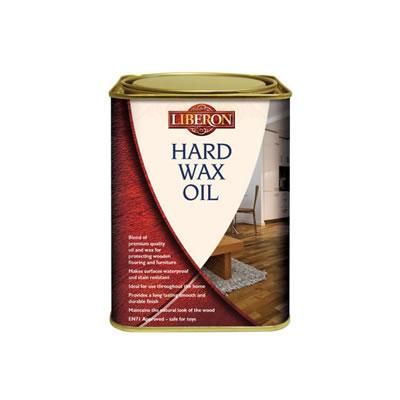 Liberon Hard Wax Oil - Clear Matt - 2500ml)