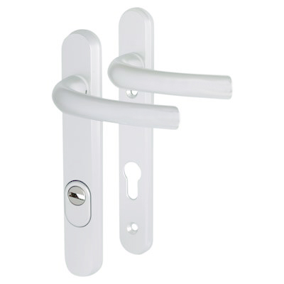 Hoppe Tokyo PAS 24  Multipoint Handle - uPVC/Timber - 92mm centres - 60mm door thickness - White