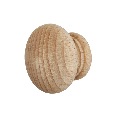 Touchpoint Cabinet Knob - 40mm - Beech