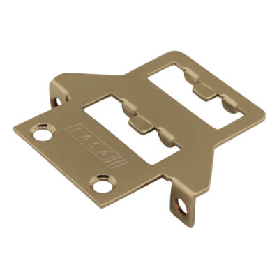 LASA Fitch Window Fastener - uPVC/Timber - Nightvent Keep - Gold