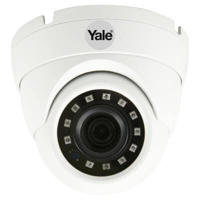 Yale Smart Home CCTV Dome Outdoor Camera - Wired - HD1080p