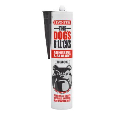 EVO-STIK The Dog's B*ll*cks - Multi-Purpose Adhesive & Sealant - Black - 290ml