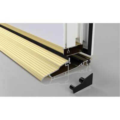 Stormguard Proline Inward Threshold - 1000mm - Inward Opening Doors - Gold)