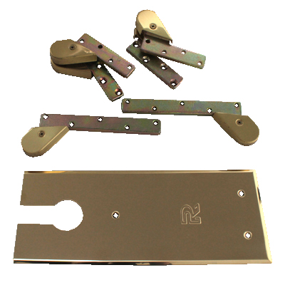Rutland® TS7000 Accessory Pack - Single Action - Polished Brass