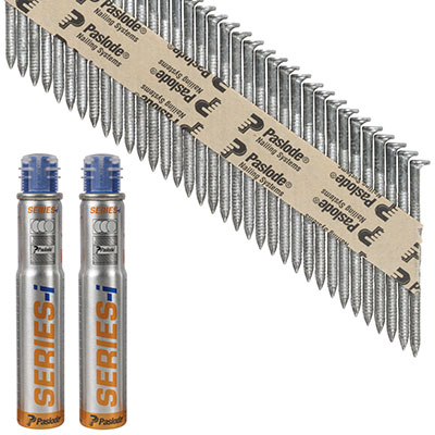Paslode IM90I Nail - First Fix - 90 x 3.1mm - HDGV - Pack 2500