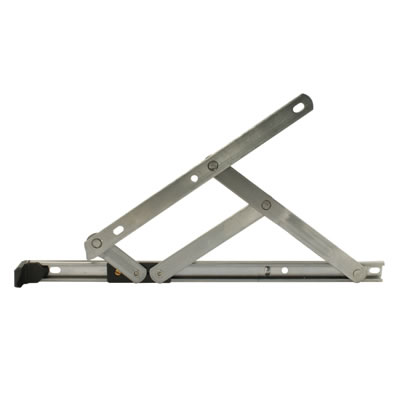 Standard Friction Hinge - uPVC/Timber - 13mm Stack - 8 inch / 200mm - Top Hung
