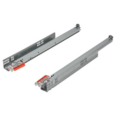 Blum TANDEM BLUMOTION Soft Close Drawer Runners - Full Extension - 500mm - 30kg