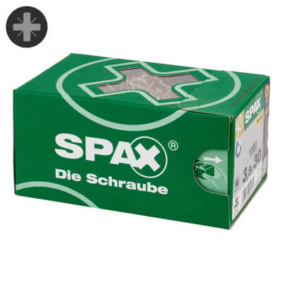Spax Value Pack - 3.5 x 30mm - Pack 1000)