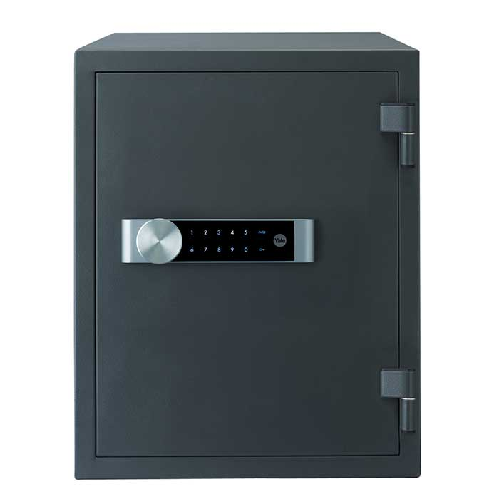Yale® Extra Large Fire Safe - 514 x 404 x 440mm - Grey)
