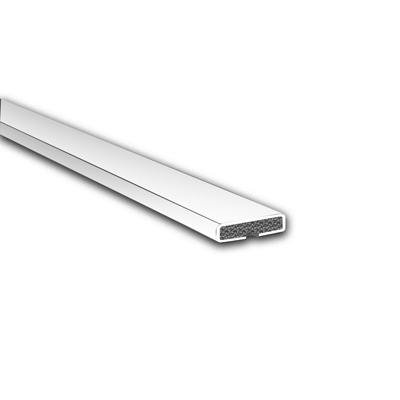 Fire Only Intumescent Strip - 15 x 4 x 2100mm - Plain - White)