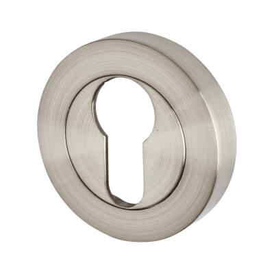 Excel Escutcheon - Euro - Satin Nickel
