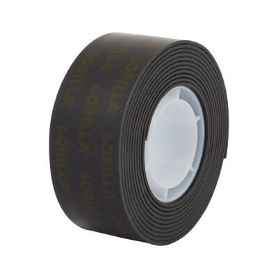 Gorilla Heavy Duty Mounting Tape - 25mm x 1.5m - Black)
