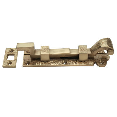 Cranked Bolt - 152mm - Blacksmith Brass