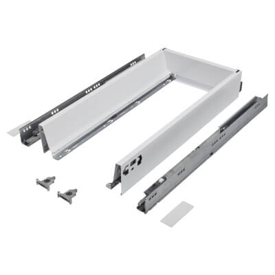 Blum TANDEMBOX ANTARO Drawer Pack - BLUMOTION Soft Close - (H) 84mm x (D) 500mm x (W) 400mm - White