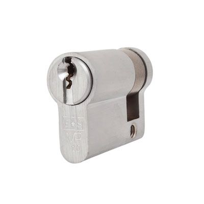 Eurospec MP10 - Euro Single Cylinder - 32 + 10mm - Satin Chrome  - Master Keyed