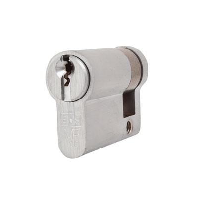 Eurospec MP10 - Euro Single Cylinder - 32 + 10mm - Satin Chrome  - Keyed to Differ