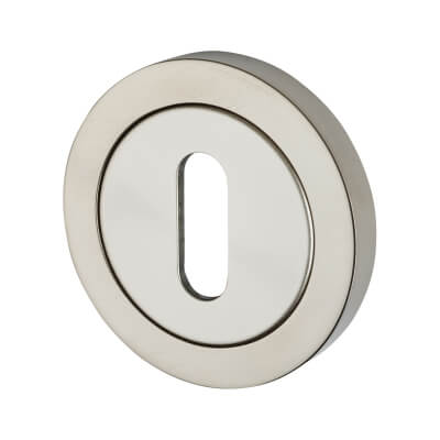 Steelworx Stainless Steel - Escutcheon - Keyhole - Polished Stainless)