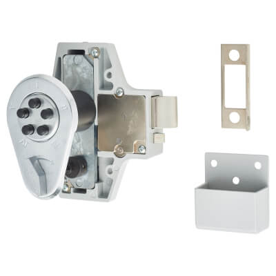 Kaba Unican NL200 Mechanical Code Lock - Satin Chrome)