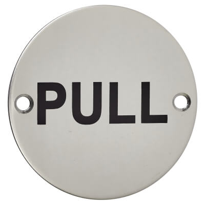 Pull - 75mm - Polished Stainless Steel)