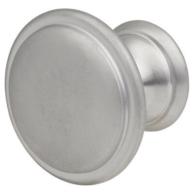 Touchpoint Rim Cabinet Knob - 30mm - Matt Chrome