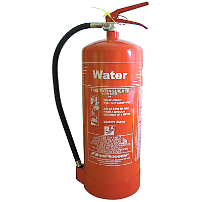 Water Fire Extinguisher - 9 Litre