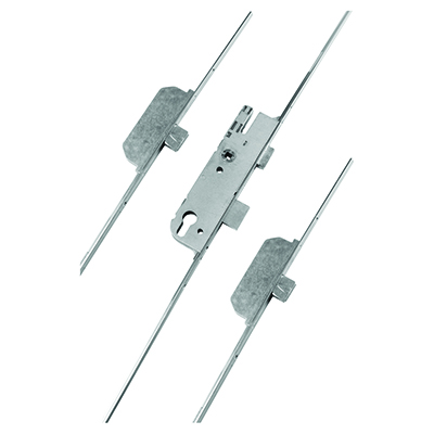 GU Ferco Extendable Multipoint Door Lock - 3 Deadbolt - 92mm Centres - 28mm Backset - uPVC / Timber