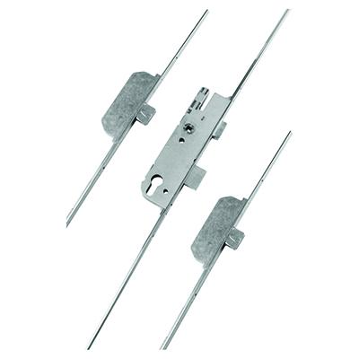 GU Ferco Extendable Multipoint Door Lock - 3 Deadbolt - 92mm Centres - 28mm Backset - uPVC / Timber