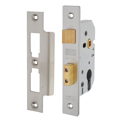 UNION® 2249 Euro Sashlock - 77.5mm Case - 57mm Backset - Satin Stainless