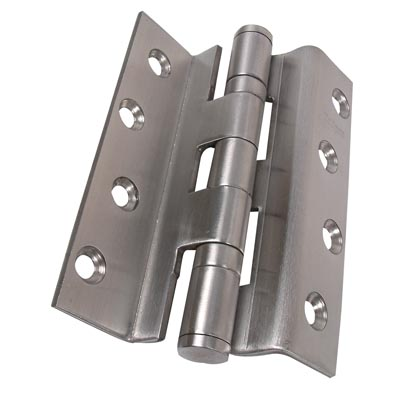 Rebated Storm Section Hinge - 100 x 3mm - Stainless Steel - Pair)